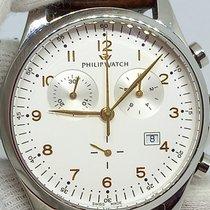 Philip Watch Blaze Steel 44mm White Arabic numerals