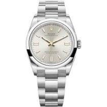 Rolex Oyster Perpetual 36 Steel Silver United States of America, New York, New York
