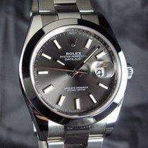 Rolex Datejust II Stål 41mm Grå Ingen tal