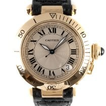 Cartier Pasha C Yellow gold 35.5mm Silver