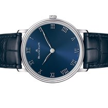 Blancpain Villeret Ultra-Slim Platinum 40mm Blue Roman numerals United States of America, Florida, Aventura