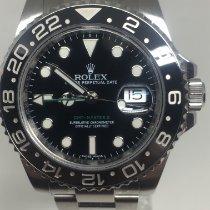 Rolex GMT-Master II Acier 40mm Noir Sans chiffres Belgique, koksijde