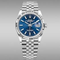 Rolex Datejust Acier 36mm Bleu Sans chiffres France, Paris