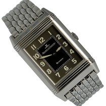 Jaeger-LeCoultre Reverso Grande Taille Steel 26mm Black Arabic numerals