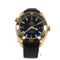 Omega Rose gold Automatic Black 45.5mm new Seamaster Planet Ocean