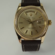 Rolex 1803 Yellow gold 1973 Day-Date 36 36mm pre-owned United States of America, Texas, Houston