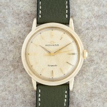 Movado Kingmatic Yellow gold 34mm Gold (solid) No numerals United States of America, New York, New York
