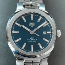 TAG Heuer Link Calibre 5 Steel 41mm Blue No numerals United States of America, Florida, Aventura
