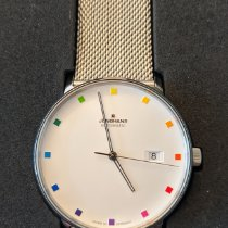Junghans FORM A Steel 393mm White No numerals