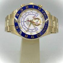 Rolex Yacht-Master II Желтое золото 44mm Белый Без цифр