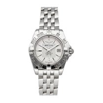 Breitling Galactic 32 Steel 32mm Silver No numerals