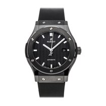 Hublot Classic Fusion 45, 42, 38, 33 mm Ceramic 42mm Black No numerals
