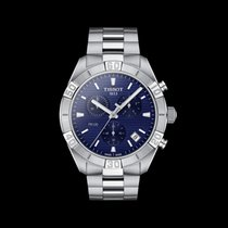 Tissot PR 100 Steel 44mm Blue No numerals United States of America, New York, Bellmore