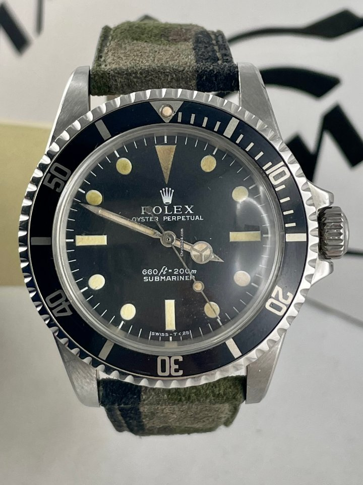 Rolex Submariner (No Date) 5513 1972 gebraucht