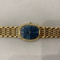 Patek Philippe Golden Ellipse Yellow gold 28mm Blue No numerals