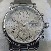 Montblanc Star 4810 Steel 38mm Silver Arabic numerals