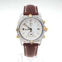 Breitling Duograph Steel 40mm White No numerals