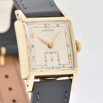 Hamilton Yellow gold 25mm Manual winding pre-owned United States of America, California, Beverly Hills