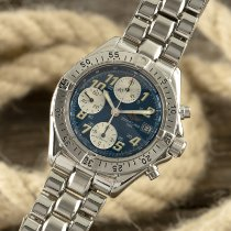 Breitling Colt Chronograph Automatic pre-owned 41mm Blue Chronograph Date Steel
