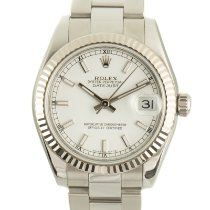 Rolex Lady-Datejust Gold/Steel 31mm White
