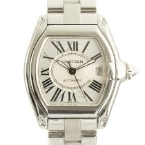 Cartier Roadster Steel 35mm Silver