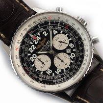 Breitling Navitimer Cosmonaute Steel Black Arabic numerals