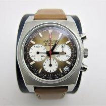Zenith El Primero Chronomaster neu 2021 Automatik Chronograph Uhr mit Original-Box und Original-Papieren 03.A384.400/385.C855