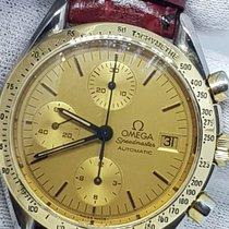 Omega Speedmaster Reduced Gold/Steel 39mm Champagne Arabic numerals