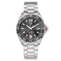 TAG Heuer new Automatic Luminous hands Screw-Down Crown 43mm Steel Sapphire crystal