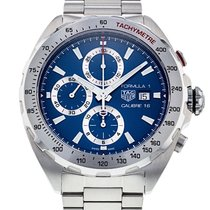 TAG Heuer Formula 1 Calibre 16 Steel 44mm Blue No numerals