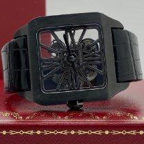 Cartier Titan Handaufzug Transparent gebraucht Santos Dumont