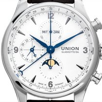 Union Glashütte Belisar Chronograph new Automatic Chronograph Watch with original box and original papers D009.425.16.017.00