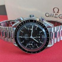 Omega Speedmaster Reduced pre-owned 39mm Black Chronograph Tachymeter Steel