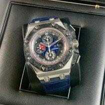 Audemars Piguet Royal Oak Offshore Grand Prix Platinum 44mm Blue No numerals