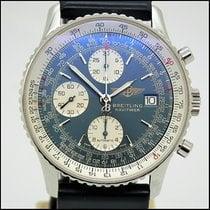 Breitling Old Navitimer Steel Blue Arabic numerals