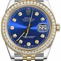Rolex Datejust II Сталь 41mm Синий
