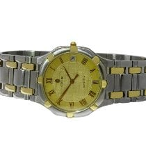 Concord Steel Quartz Yellow Roman numerals 32mm pre-owned Saratoga