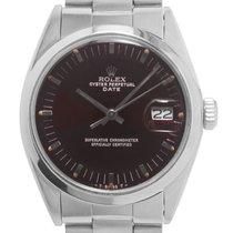 Rolex Oyster Perpetual Date Acero 34mm Rojo Sin cifras España, Madrid
