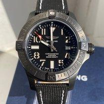 Breitling Avenger Seawolf Titanium 45mm Black Arabic numerals