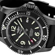Breitling Superocean Steel 46mm Black Arabic numerals