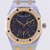 Audemars Piguet Royal Oak Dual Time Gold/Stahl 36mm Grau Keine Ziffern
