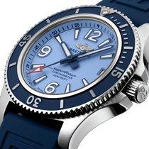 Breitling Damenuhr Superocean 36mm Automatik neu Uhr mit Original-Box und Original-Papieren 2021