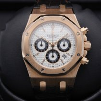 Audemars Piguet Royal Oak Chronograph Rose gold 39mm Silver United States of America, California, Huntington Beach