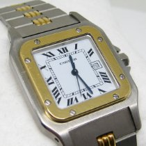 Cartier Santos Galbée Gold/Steel 29mm White Roman numerals United States of America, California, Los Angeles