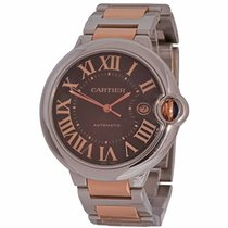 Cartier Ballon Bleu 42mm Gold/Steel 42mm Brown Roman numerals United States of America, Florida, Fort Lauderdale