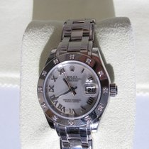 Rolex Lady-Datejust Pearlmaster White gold 29mm White Roman numerals Canada, Calgary
