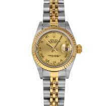 Rolex Lady-Datejust Gold/Steel 26mm Champagne Roman numerals United States of America, Maryland, Baltimore, MD