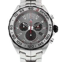 TAG Heuer Formula 1 Quartz Steel 43mm Grey No numerals United States of America, New York, New York