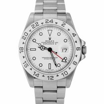 Rolex Explorer II Steel 40mm White United States of America, New York, Massapequa Park