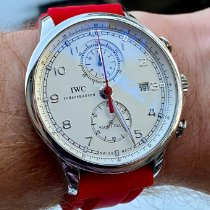 IWC Portuguese Yacht Club Chronograph IW390211 Very good Steel 45.4mm Automatic United States of America, Virginia, Gloucester Point